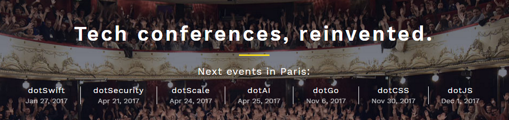 Tech conferences, reinvented