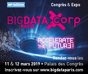 Vision « planétaire » des sponsors de Big Data Paris 2019