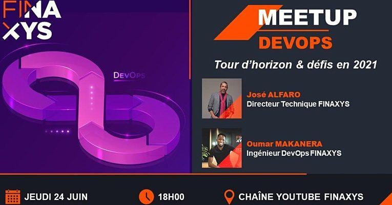 Meetup DevOps : tour d'horizon et défis en 2021